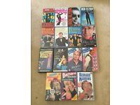 VHS tapes x 15 comedy stand ups Ben Elton jasper carrot Dave Allen Bernard manning Harry enfield