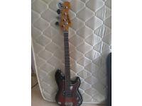 Short Scale Bass Guitar