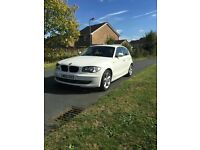 BMW 1 Series 2010 2.0 116i White Sport Hatchback 5dr NEW 1 YEAR MOT