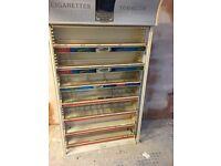 Cigarette gantry display