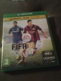 XBOX ONE FIFA 15 GAME FOR SALE.