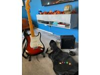 Electric guitar package