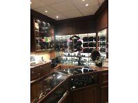 Jewellery Display Units - Full shop interior