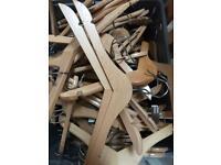 Wooden children's hangers