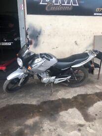 Yamaha 125(YBR 125) Runs very well but needs MOT