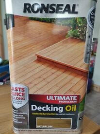 Ronseal Ultimate Protection Decking Oil - New