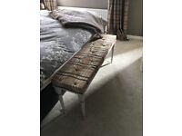 Bedend bench tartan