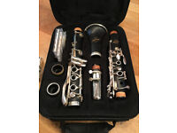 Windcraft Clarinet, little use in very good condition. Also with Clarinet stand and music stand.
