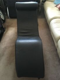 Leather lounger for sale
