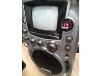 "Clarity Karaoke LS9 CDG System with 5.5"" B/W Monitor(no microphone)"