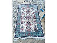 Pretty floral Persian rug