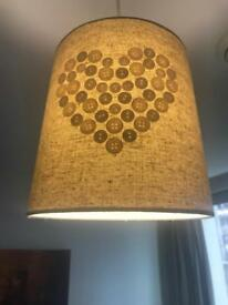 Pair of light shades