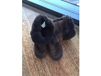 Brown UGG Boots Size 3 - Collection Only - £20