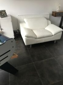 LeAther love seat / sofa / chair