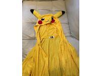 Adult Pikachu onesie for sale