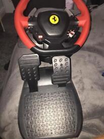 Thrust master Ferrari 458 spyder wheel