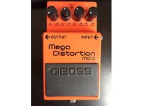 Used Boss Mega Distortion MD2 guitar pedal for sale