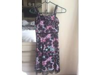 Black and floral girls dress age 9 by Jasper Conran