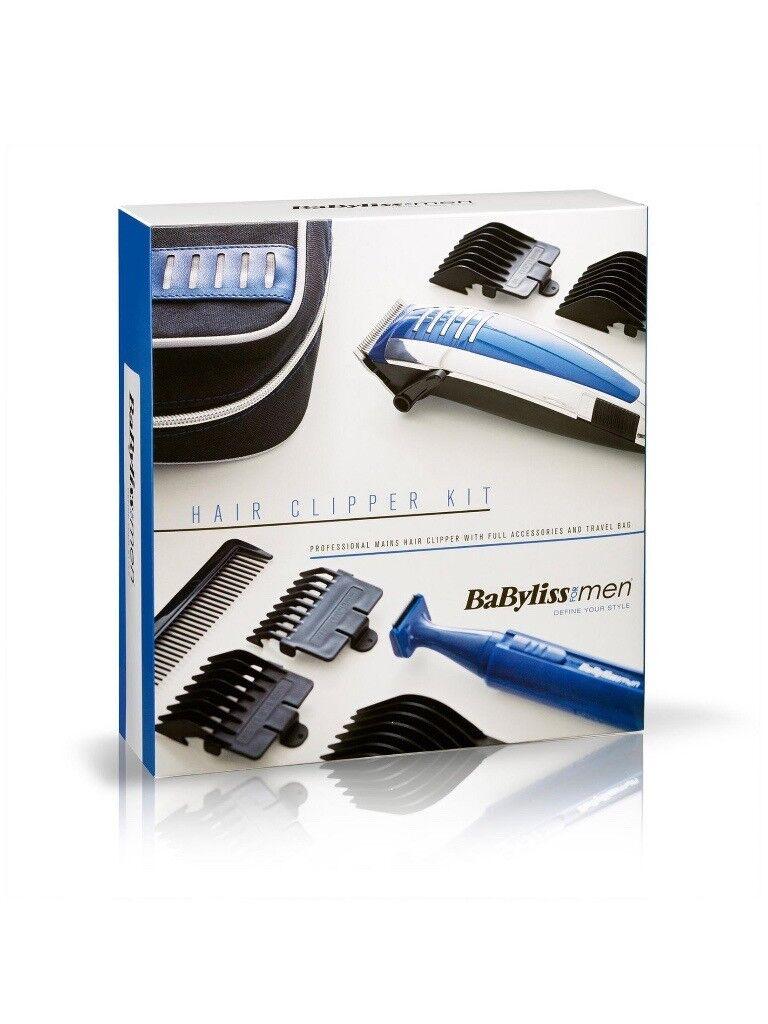 BaByliss For Men 7448CGU Professional Hair Clipper Gift Set Brand new in box 098fc265fdd70