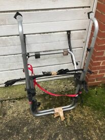 cycle carrier holds upto 3 bikes good condition
