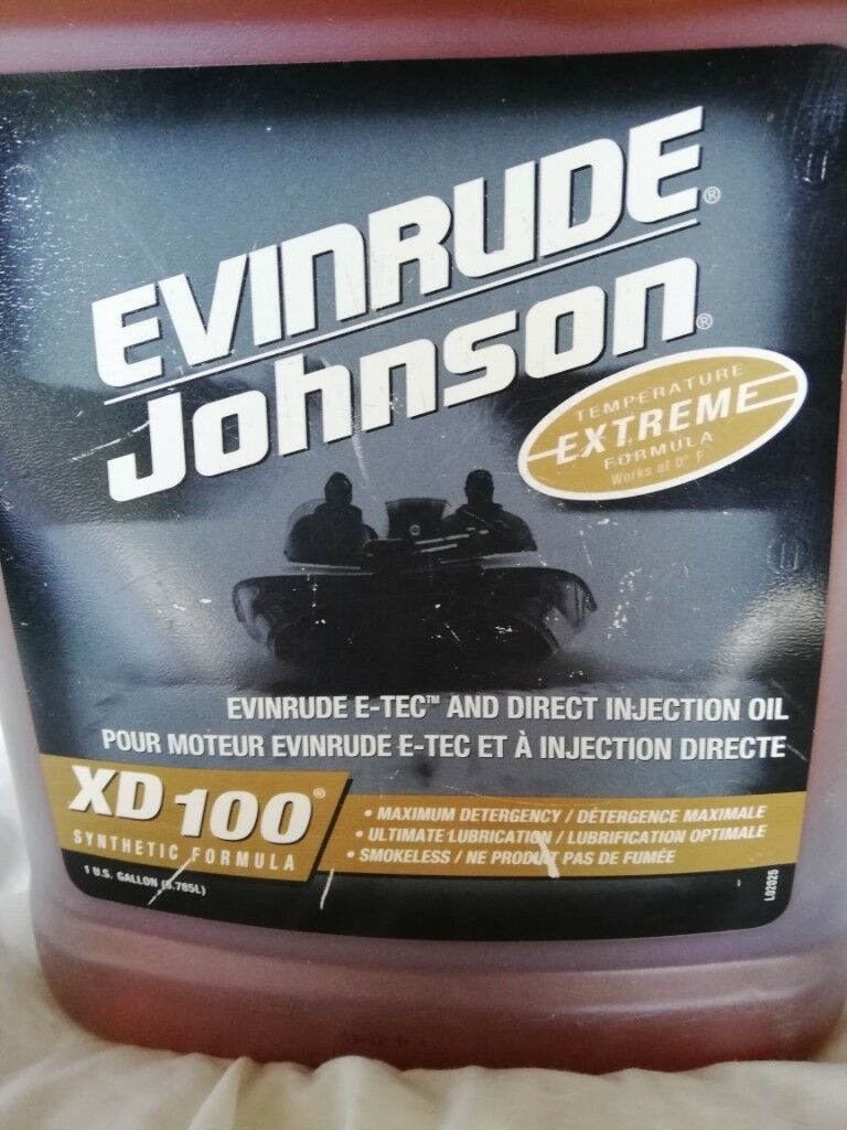 Evinrude-Johnson E-Tec 2 stroke oil XD 100 3 78L | in Southampton,  Hampshire | Gumtree