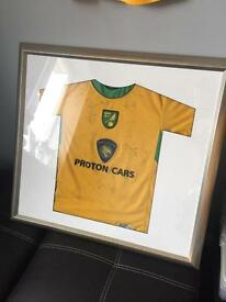 Signed Norwich City shirt