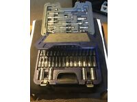 Snap on 3/8 77pc general service socket set as pictured