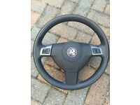 Vauxhall Vectra C Steering wheel with airbag