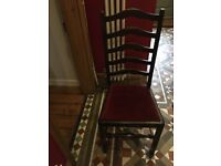 Dining chairs vintage