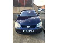 VW GOLF TDI SE 04 BLUE 5 DOOR