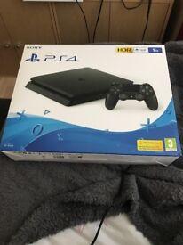 1tb PS4 BLACK BRAND NEW IN BOX