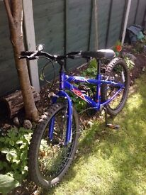 childs blue apollo bike xc20 VGC £25
