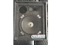 Pair of carlsbro speakers