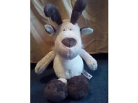 Nici reindeer plush soft toy dangling 35 cm 13,7 inches