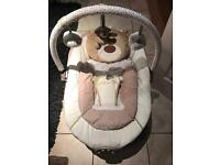 Baby bouncer , ( loved so much ) good condition