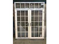 BRAND NEW PVC FRENCH DOORS