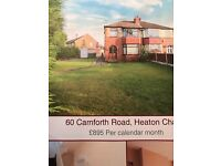 3 bedrooms semi detached property in heaton chapel Stockport