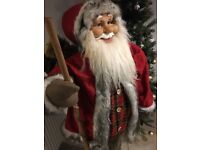 Father Christmas decorative 5ft tall !