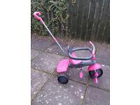 Pink Smart Trike