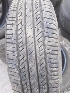 4 PNEUS ÉTÉ - BRIDGESTONE 175 65 15 - SUMMER TIRES