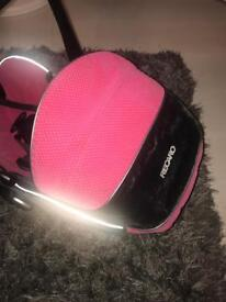 ⭐️Pink girls recaro car seat⭐️