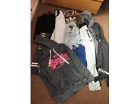 Girls clothes bundle Age 10-12 superdry Adidas etc