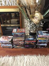 DVD tv box set job lot