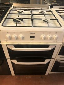 60CM WHITE BEKO GAS COOKER