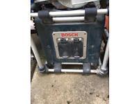 Bosch site radio