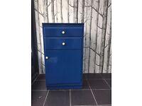 Shabby chic retro upcycled cupboard / unit, freestanding kitchen unit, storage
