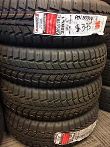 (s)-205/75/15 Uniroyal Tiger Paw ice and snow ON SALE!!!