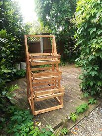 Bespoke Ladder Planter for sale