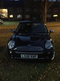 2006 Mini Cooper one seven 1.6 petrol black 3 doors