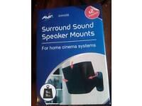 AVF surround sound speaker wall mounts